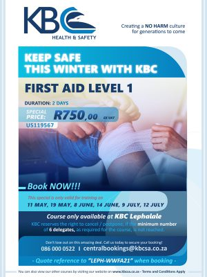 Lephalale-May-2021-First-Aid